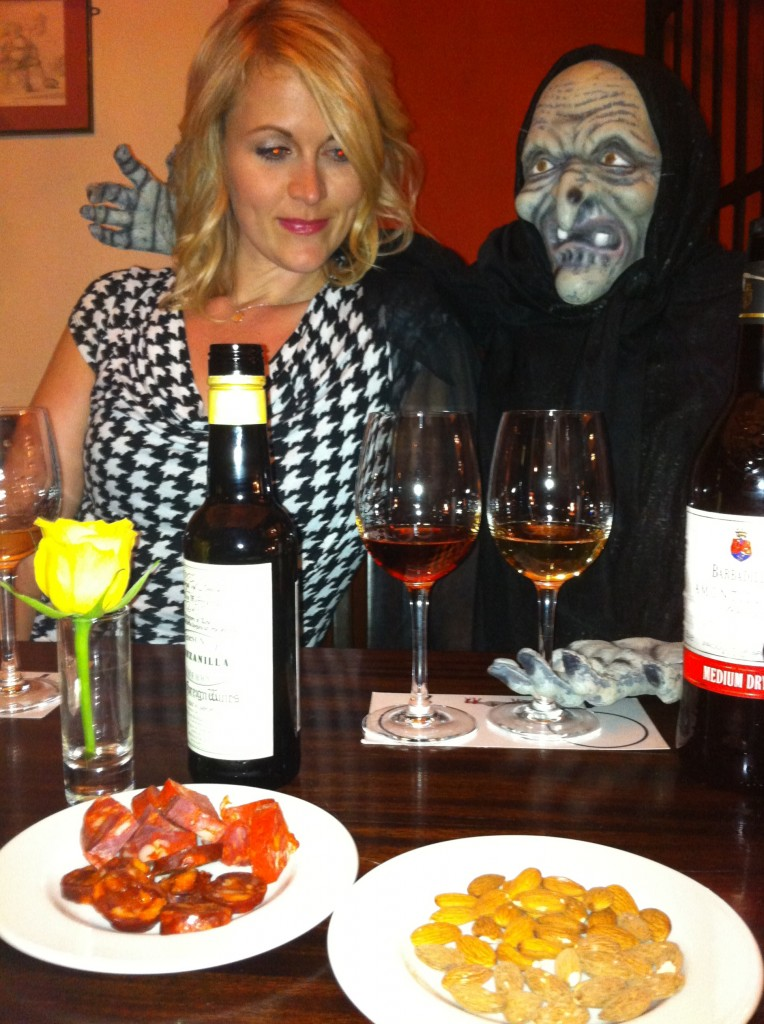 Scary Sherry Tasting