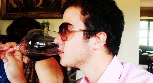 Sunglass tasting